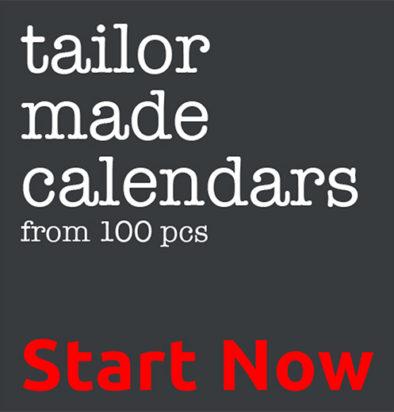 Tailor made Calendars