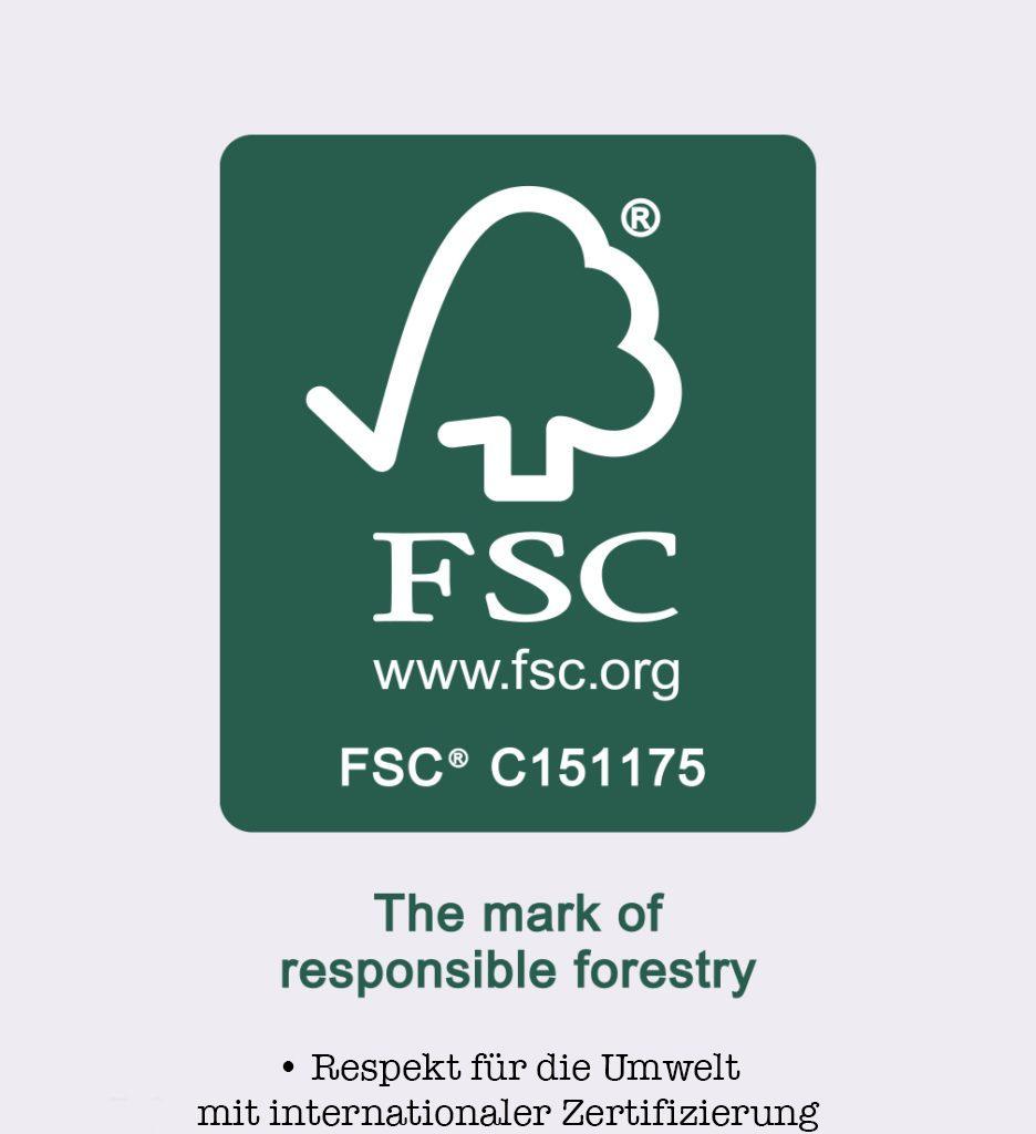 Internationaler Zertifizierung FSC